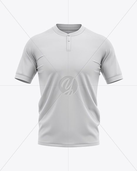 Download Men S Henley Collar Soccer Jersey Mockup Front View Football Jersey Soccer T Shirt In Apparel Mockups On Yellow Images Object Mockups Clothing Mockup Mockup Free Psd T Shirt Design Template PSD Mockup Templates