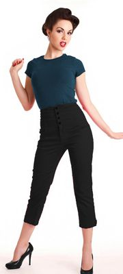 I like this but I don't think it will work. 1950's Style Pants: Capri, Crop, Cigarette Pants