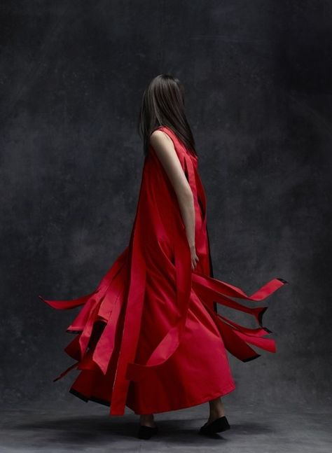 A Look From Ecochic Design Award Finalist Tsang Fan Yu Of Hong Kong Polytechnic University Fashion Design Competition Fashion Design Portfolio