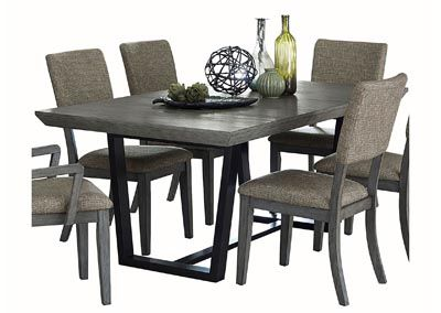Avenhorn Grey Dining Table In 2020 Grey Dining Tables Homelegance Dining Table