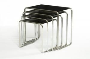 Marcel Breuer Nest Of Tables | Bauhaus U0026 Parallels | Pinterest | Marcel  Breuer, Bauhaus And Marcel