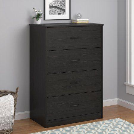 Ordered Mainstays 4 Drawer Dresser Multiple Colors Dresser