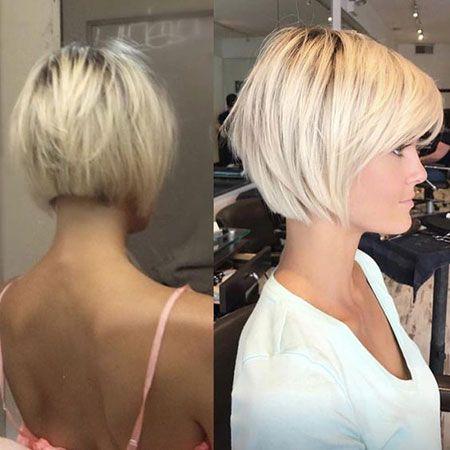 Best Short Hairtyles 2018 Kurze Gerade Frisuren Pflegeleichte Frisuren Haarschnitt Kurz