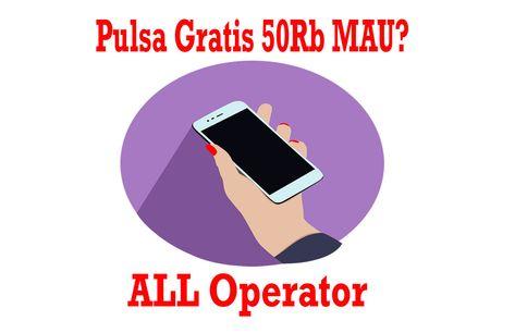 Pulsa Gratis 50rb All Operator Mau Gratis Aplikasi Simpul