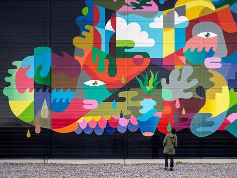 The Data Center Mural Project - Google e la street art ...