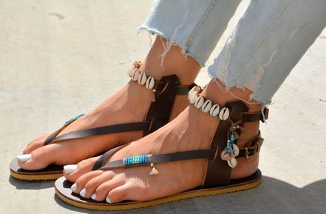 78e893de032 Womens Leather Sandals