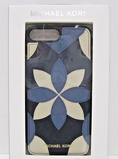 ff7664f3454 Floral Iphone Case for sales #FloralIphoneCase #FloralphoneCase Phone Case  Michael Kors NIB $55 IPhone 7 Plus Floral Leather Floral Admiral Blue -  $29.00 ...