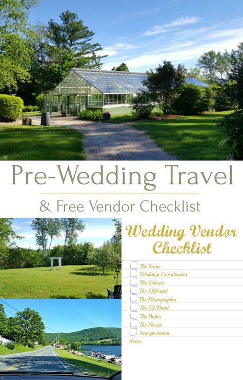 Pre-Wedding Travel and Vendor Checklist Bloggers Magazine