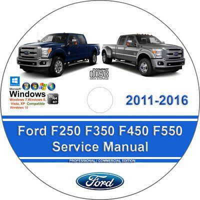 Advertisement Ebay Ford F250 F350 F450 F550 2011 2016 Factory