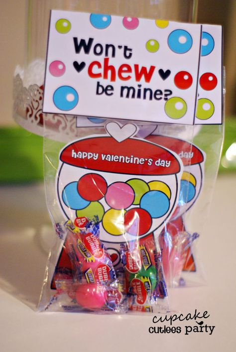 Gumball Love Craft SET Fold over Valentine Card Craft Digital Printable U PRINT- Instant download on Etsy, $3.50