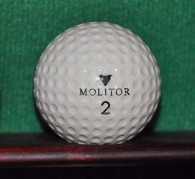 Vintage Spalding Molitor Golf Ball Best Golf Club Sets Golf Ball Golf