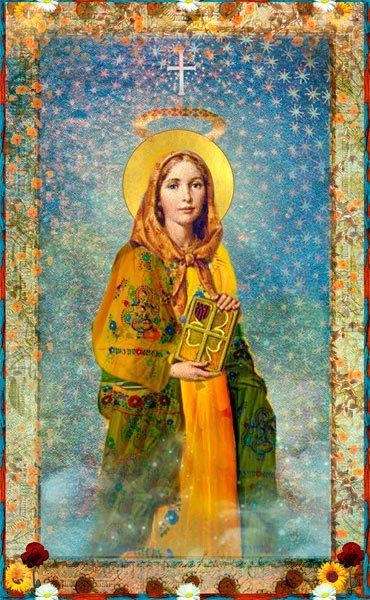 Saint Dymphna Holy Card | Etsy