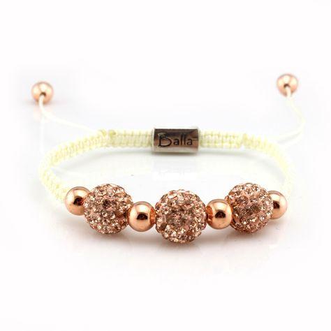Trinity Rose Gold Bracelet