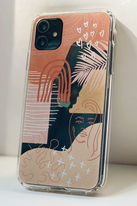 Excited to share this item from my shop: Modern Abstract Trendy Clear Phone Case iPhone XR XS Max 11 Pro 7 8 Plus Galaxy Galaxy Ultra Collage Phone Cover The Urban Flair Art Phone Cases, Pretty Iphone Cases, Diy Phone Case, Phone Cover Diy, Phone Covers, Mobile Phone Cases, Tumblr Phone Case, Cute Cases, Coque Iphone