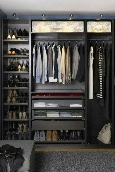 63 Cool And Neat Apartment Decorating Ideas For Men 8 Aacmmcom Apartment Cool Deco In 2020 Kleiner Schrank Kleine Schlafzimmer Schranke Schlafzimmer Schrank Ideen