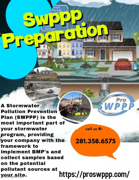 In this presentation, we will provide an overview of the construction general permit and its. A Stormwater Pollution Prevention Plan Swppp Is The Most Important Part Of Your Stormwater Program Providing Your Company With The Frame Proswppp Pollution Prevention How To Plan