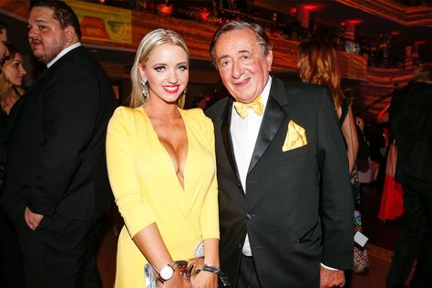 Playboy Model/Definitely Not a Gold Digger Cathy Schmitz, 25, Says 82-Year-Old Billionaire Husband's Money Isn't Important