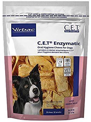 Amazon Com H C Animal Health C E T Enzymatic Chews For Dogs