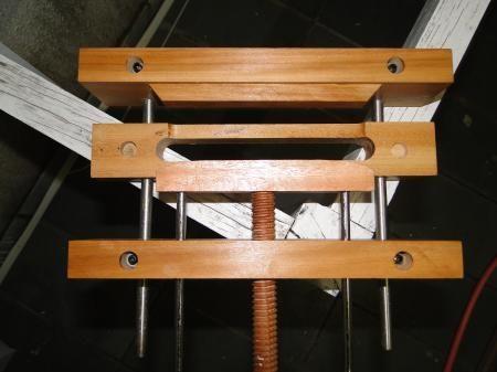 Homemade Mortise Jig Mortise Pal By Alask Lumberjocks Com Woodworking Community Mortise Jig Jig Mortising