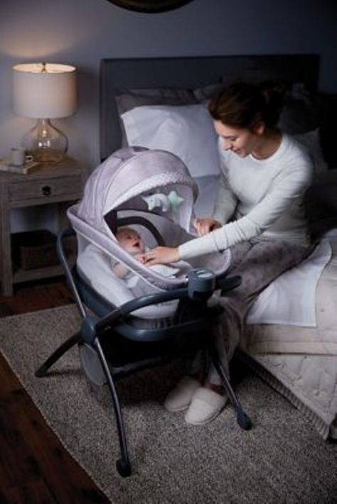 Graco Baby Pack N Play Day2dream Crib Bassinet Playard Bedside Sleeper Layne