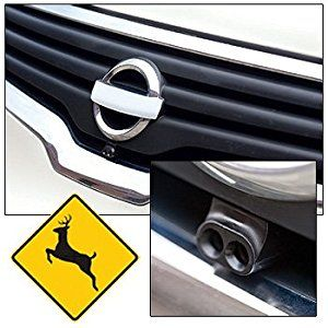 Bell Automotive 22-1-01000-8 Deer Warning Black