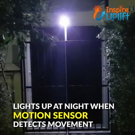 Solar Lamp Wall Sensor Light 😍  When motion is detected, this solar wall or step light instantly brightens to 30 lumens, providing excellent illumination and turning a dark, foreboding space into a welcoming, brightly lit place. Each solar light has a motion detection range of 90 degrees and the light stays on while motion is detected within the detection range.  Currently 50% OFF with FREE Shipping!