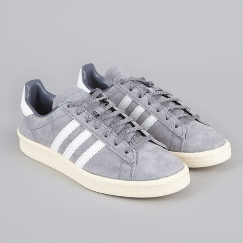 low cost 276cb cd75f Adidas Campus 80s Japan Pack VNTG - GreyWhite