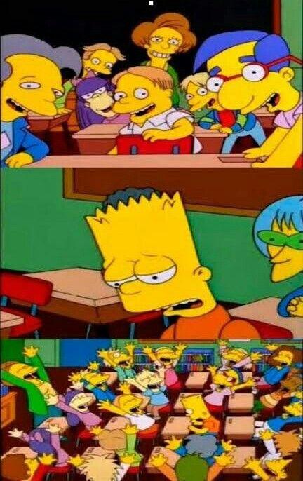 Di Lo Tuyo Bart Meme Divertido Plantillas Para Momos Memes Divertidos