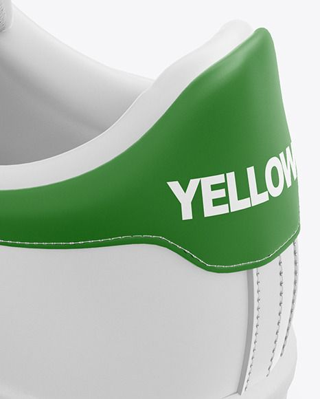 Download Sneaker Mockup In Apparel Mockups On Yellow Images Object Mockups Clothing Mockup Sneakers Leather Sneakers
