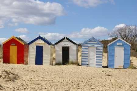 Southwold Beach Huts Caught Eye of London Olympics - Southwold Tourist Information 2015