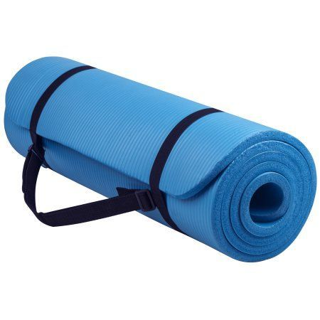 Everyday Essentials All Purpose 1 2 Inch High Density Foam Exercise Yoga Mat Ant Mat Exercises Yoga Mats Best Yoga Mat
