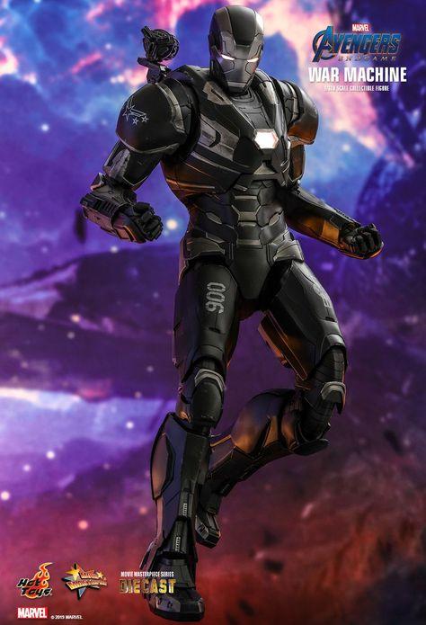 """Scale Figure Avengers Marvel Endgame de Marvel Machine de guerre 6/"""""""