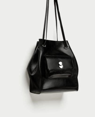 Zara Torebka Czarna Worek Tusk Maff Jemerced Nowa 7312522446 Oficjalne Archiwum Allegro Bags Bag Sale Bucket Bag