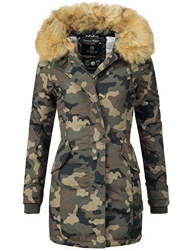 Marikoo Damen Winter Mantel Winterparka Karmaa XS XXXXXL