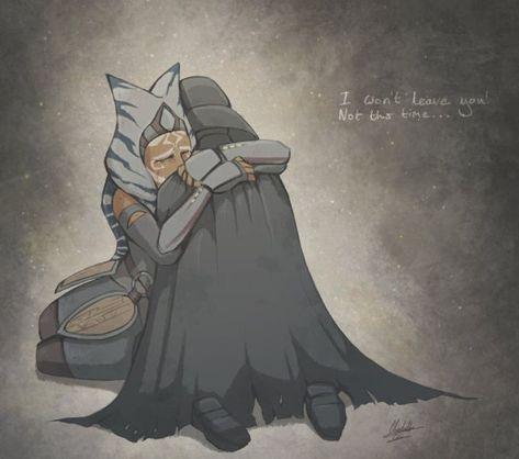 Ahsoka and Darth Vader Star Wars Fan Art, Star Wars Meme, Star Wars Rebels, Star Wars Clone Wars, Star Wars Saga, Star Wars Film, Star Trek, Star Wars Clones, Anakin Vader
