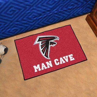 Nfl Atlanta Falcons Man Cave Starter Rug 19 X30 Atlanta Falcons Man Cave Atlanta Falcons Man Cave Nfl