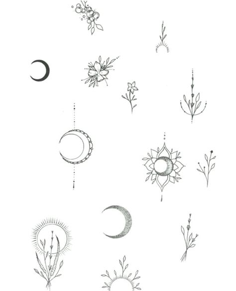 moon and flower – #flower #moon #symbol - #Flower #Moon #Symbol