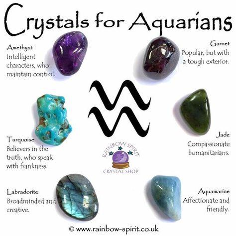 Crystals for the zodiac | Alexandra's wonders
