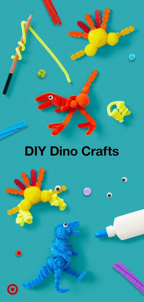 DIY Dinosaur Crafts