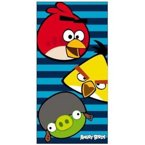 Serviette De Bain Angry Birds.Serviette De Bain Angry Birds Serviettes Et Ponchos