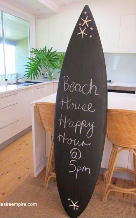 Pin Von Heike Apple Woi Auf Hobbyraum Surfbrett Dekor Strandhaus Surfbrett