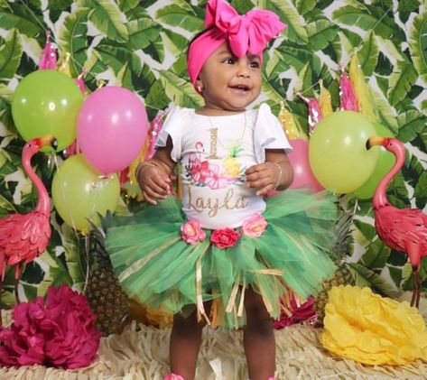 e20ffffcf Luau Birthday Outfit Tropical 1st Birthday Outfit Pineapple ...
