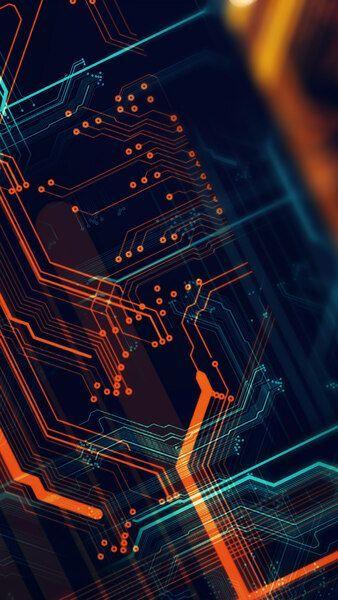 Circuit Digital Art 4k Hd Mobile Smartphone And Pc Desktop Laptop