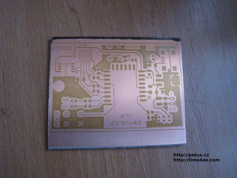 Electronic Engineering - Articles: Etching of PCB - faster, cheaper, safer