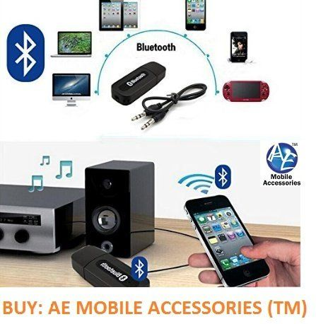 3.5mm USB Wireless Bluetooth Music Car Audio Stereo Receiver Adapter Dongle