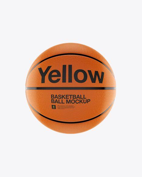 Download Download Basketball Ball Psd Mockup Front Viewtemplate Mockup Free Psd Mockup Free Download Free Mockup