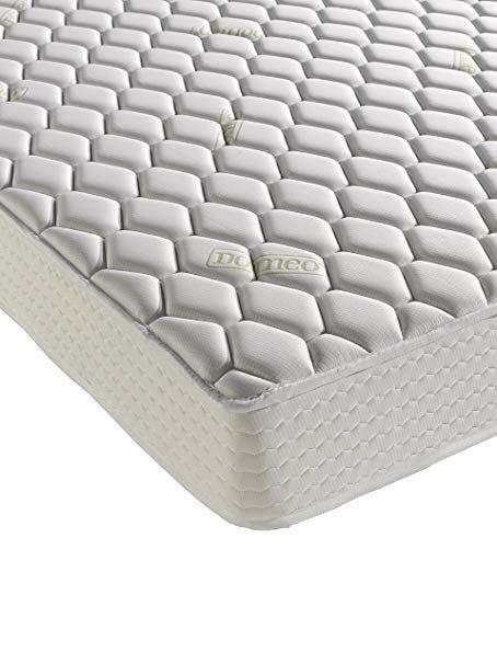 Dormeo Memory King Size Aloe Vera Deluxe Mattress With Cotton White Uk In 2020 Mattress Best Mattress