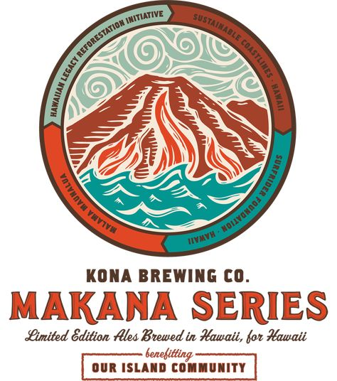 Beer Coaster ~*~ MAUI Brewing Co ~ Handcrafted Ales /& Lagers with Aloha ~ HAWAII