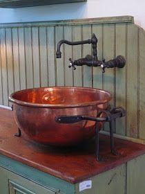23 idee per creare lavabi con oggetti da riciclare | Cucina ...