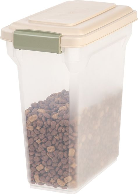 Iris Airtight Pet Food Storage Container Helps Keep Your Pet Food